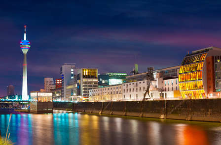 Ontdek het gezellige Düsseldorf door middel van een bus tour