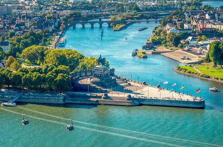 Zomerspecial: Rijke historie tussen twee rivieren in Koblenz (vanaf 2 nachten)
