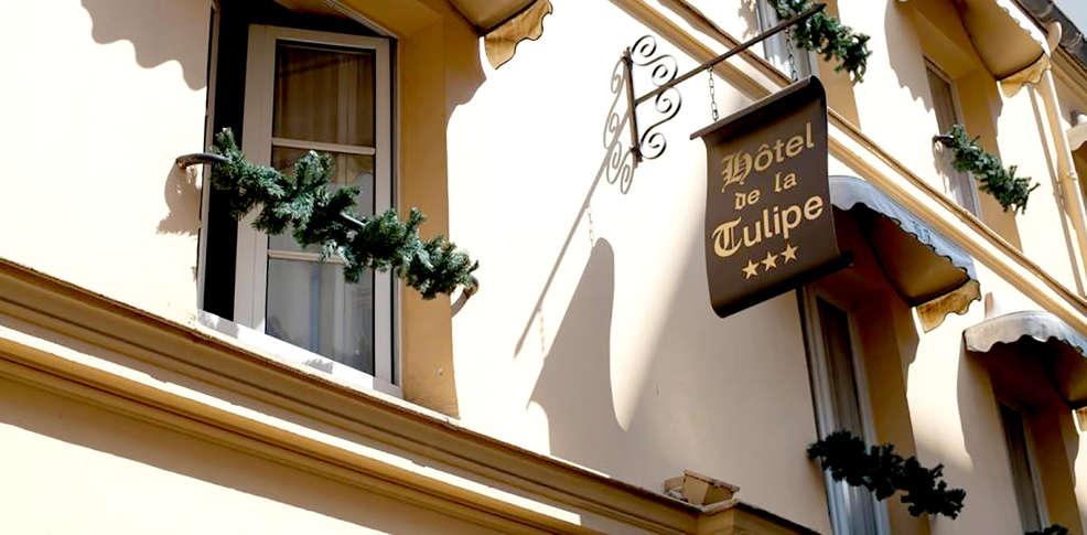 H tel de la tulipe h tel de charme paris for Meilleur prix hotel paris
