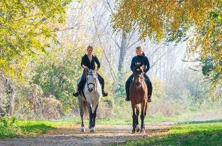 Promenade à cheval et dîner en Andorre