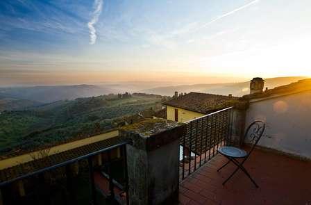 Le charme de la Toscane avec une dégustation de vin