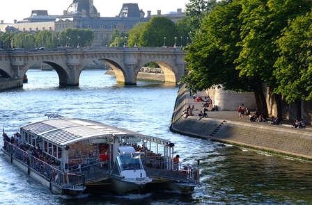 Romantiek in Parijs met rondvaart over de Seine