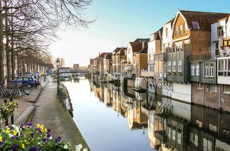 Ambiance romantique dans l'idyllique ville de Gorinchem