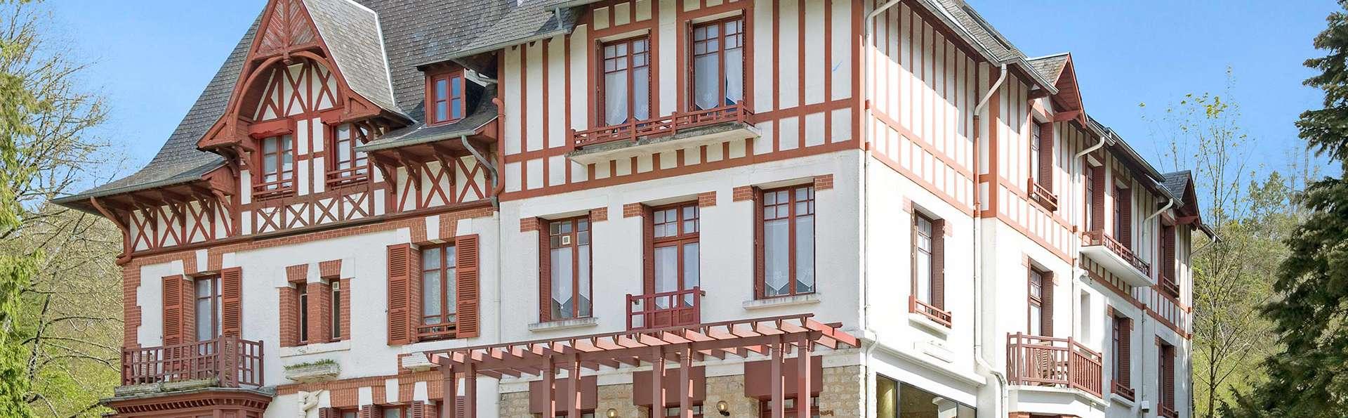 hotel normandie jacuzzi dans la chambre