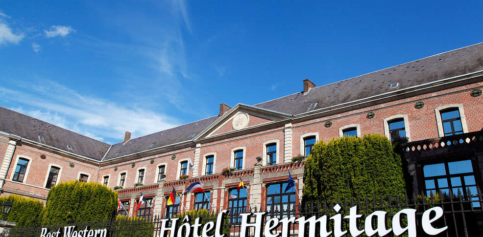 Best western h tel hermitage h tel de charme montreuil for Reservation hotel pas chere
