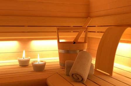 Pause douceur dans un sauna privé près de la plage