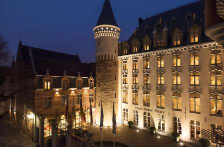 Momenti romantici in un hotel nel cuore di Bruges