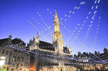 Découvrez le marché de Noël au cœur de Bruxelles