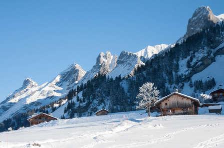 Semana alpina con alojamiento en apartamento para 8 personas en La Clusaz