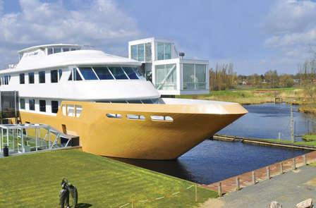 Relax nel sud dell'Olanda in una spa galleggiante