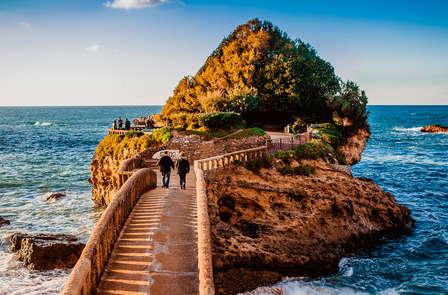 Saint Valentin : Week-end romantique avec champagne à Biarritz