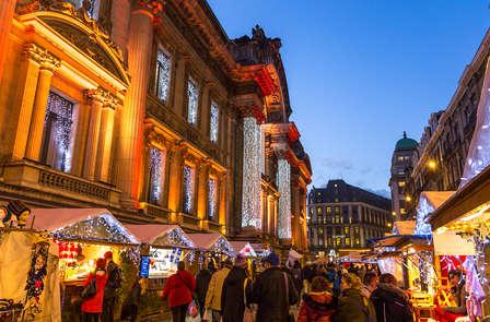 Wafels, glühwein en kerstmarkt Winterpret in Brussel