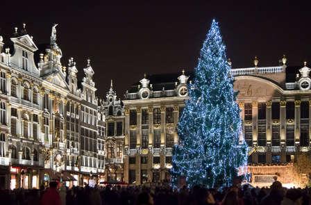 Romance, luxe et ambiance de Noël à Bruxelles