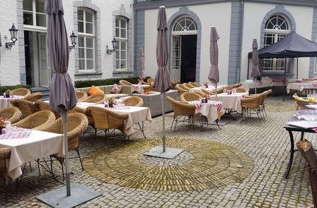 Romantisch weekendje weg met 4-gangen diner in een suite op het drielandenpunt