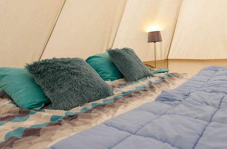 Uniek fietsweekend in een luxe tent in Limburg (vanaf 2 nachten)