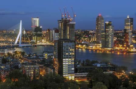 Citytrip a Rotterdam con vista panoramica dell'Euromast, lo Spido o il Kunsthal