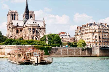 Paris depuis la Seine avec balade en bateau