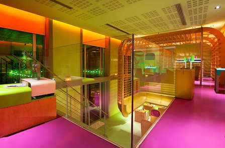 Modernistische design in het hart van Nice