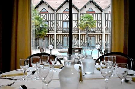 Normandische romantiek met regionaal diner dicht bij Deauville