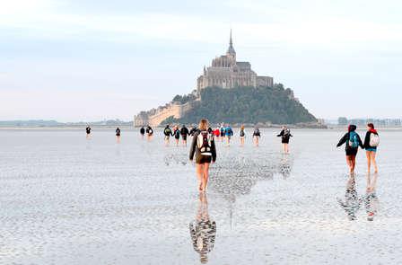 Adresse de charme et traversée à pied de la baie du Mont Saint Michel