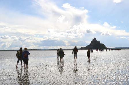 Week-end avec promenade commentée à travers la baie du Mont Saint Michel