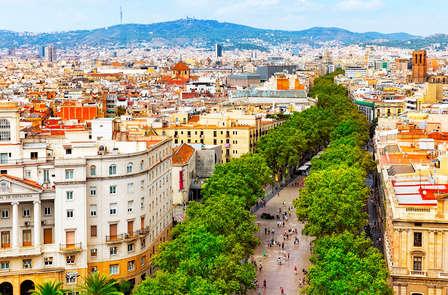 Week end con bottiglia di vino nel centro di Barcellona
