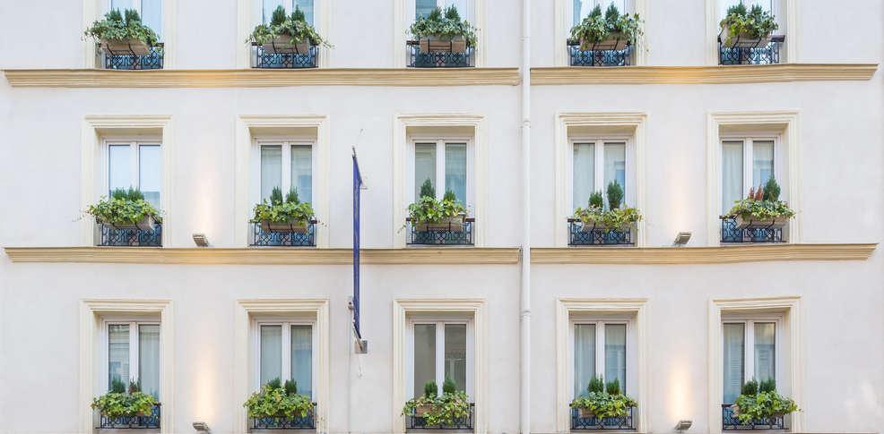 H tel jardin de villiers h tel de charme paris - Jardin suspendu brussels montpellier ...