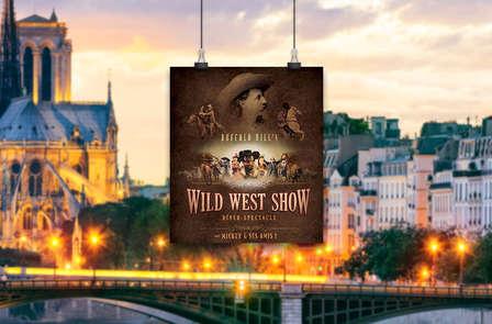 """Cena-spettacolo Disney """"La Leggenda di Buffalo Bill"""" e soggiorno 4* vicino a Parigi"""