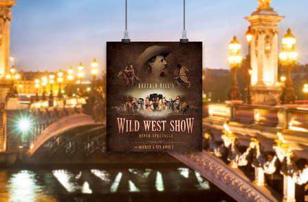 """Dîner-spectacle Disney """"La Légende de Buffalo Bill"""" et séjour 3* près de Paris"""