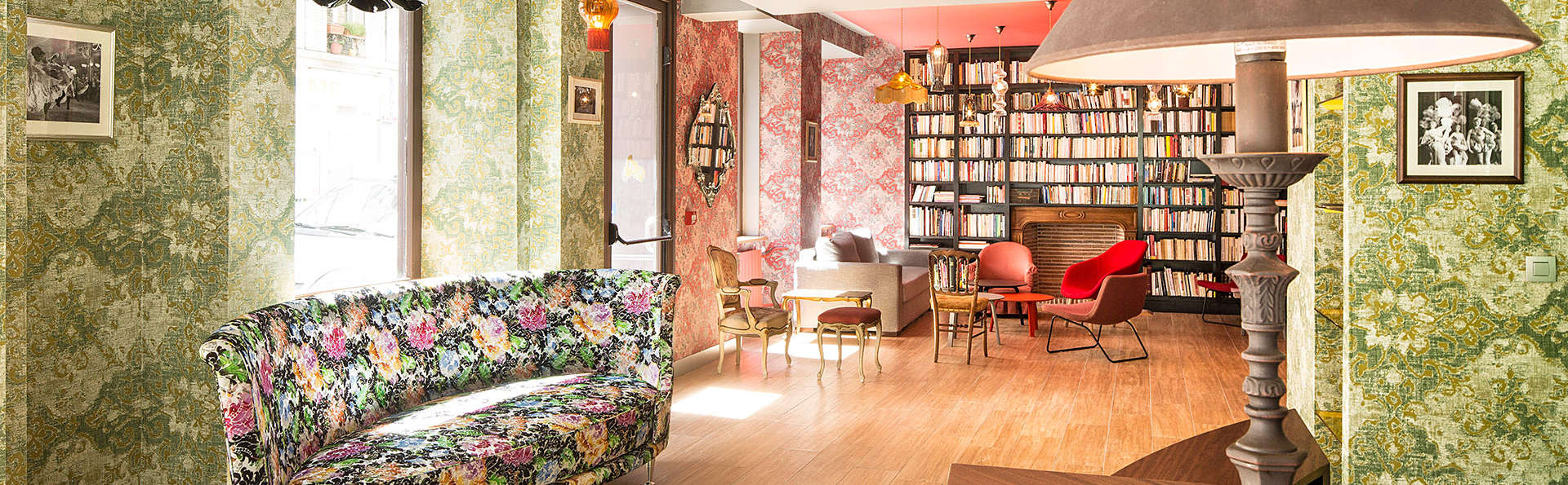H tel jos phine by happyculture h tel de charme paris for Paris hotel de charme