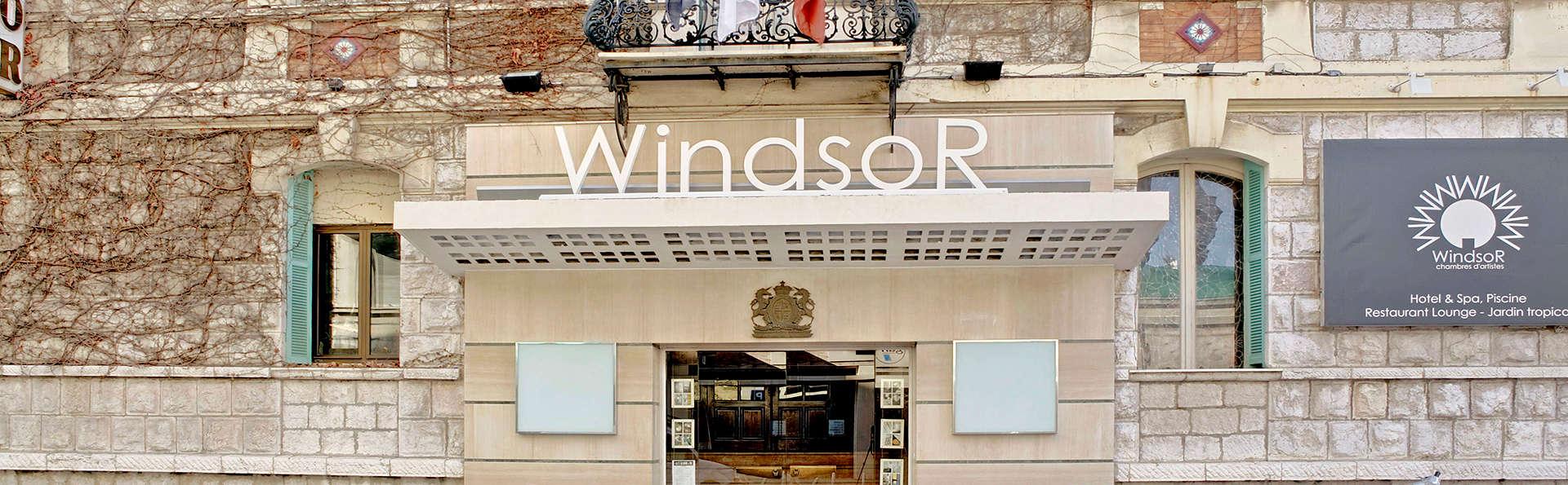 H tel windsor h tel de charme nice for Reservation hotel paca