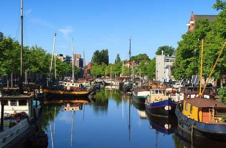 Modern dromen even buiten de binnenstad van Groningen met toegang tot het Stripmuseum