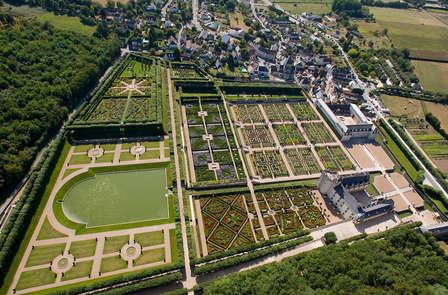 Visita a los jardines y al castillo de Villandry