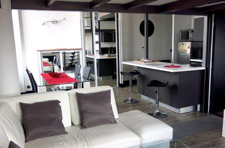 Elegancia y libertad absoluta en una moderna suite de Toulouse