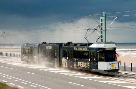 Découvrez la côte belge avec le tramway côtier