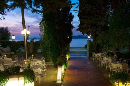 Noche mágica en el Lido de Venecia