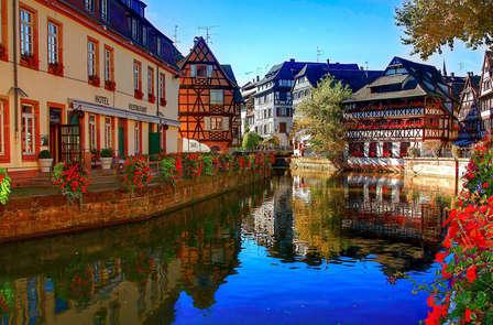 Champagne samen met je geliefde in het hart van Straatsburg