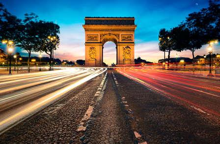 City-trip à Paris avec visite de l'Arc de Triomphe
