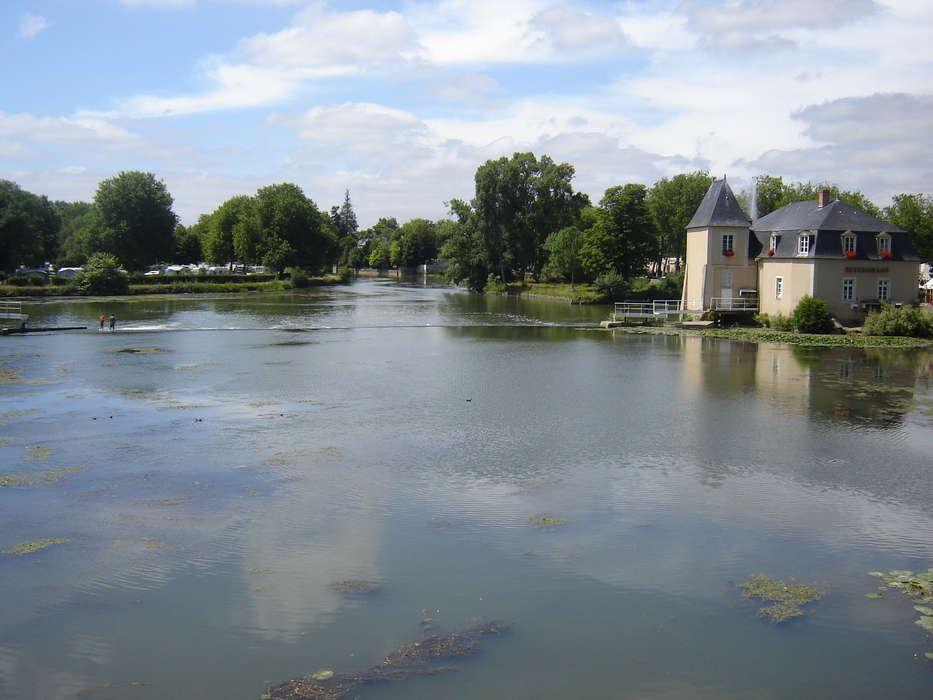 Hôtel du Domaine de la Courbe - Le_Loir_a_La_Fleche.JPG