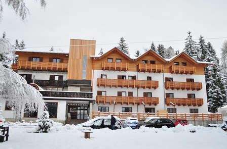 Romanticismo e relax in Trentino: con accesso alla terrazza benessere
