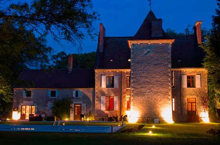 Alle porte di Nevers in un castello da favola