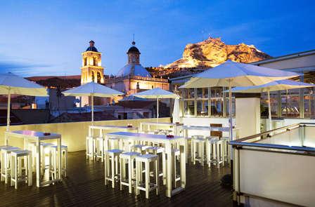 Especial Terrazas: Cóctel con vistas en la mejor terraza de Alicante, con Spa
