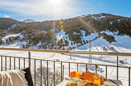 Pause dans les montagnes d'Andorre dans un studio pour 4 personnes (à partir de 3 nuits)