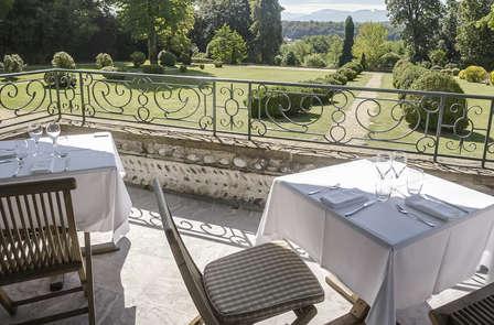 Luxe et dîner face aux Pyrénées à Pau