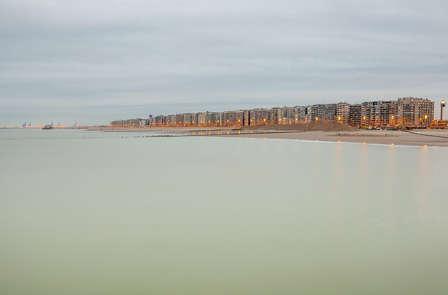 Maak een strandwandeling en geniet van een studio in Zeebrugge (2 nachten)