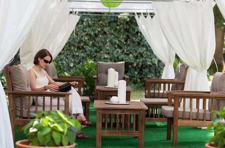 Alojamiento y desayuno con acceso a las piscinas termales del Manantial de Alceda
