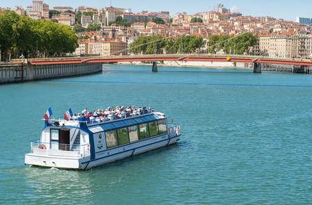 Vue panoramique et découverte de Lyon au fil de l'eau