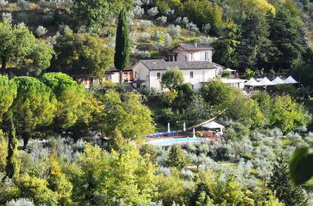 Alle porte di Foligno in un agriturismo circondato dal verde umbro