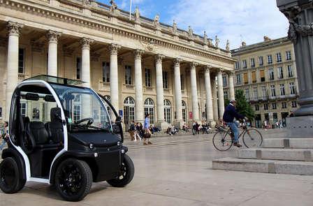 Week-end découverte de Bordeaux en voiture électrique