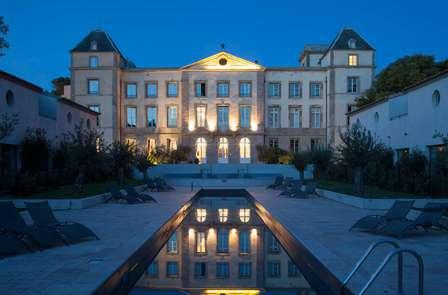 Cena reale in un castello nel sud della Francia